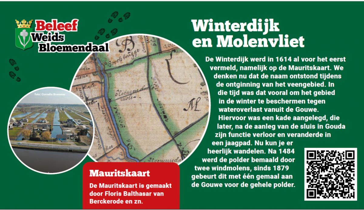 Bord Winterdijk en Molenvliet